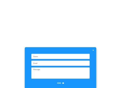 Popup Modal Design Example